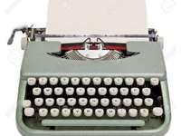 A máquina de escrever mecânica - A antiga técnica de escrever