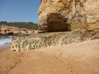 Portugal - Blick auf den Strand in Südportugal.