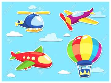 Air Transport - Join the puzzle pieces