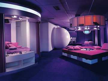 Habitat Of The Future - This Is A Bedroom From 1969 Designed By Joe Colombo