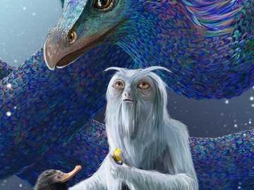 """Puzzle magic ✨ TNOH ✨ - """"Sunt pe un teren necunoscut, înconjurat de milioane de creaturi cele mai cruce din lume, oameni."""