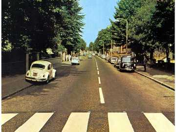 Abbey Road - The street of the Beatles, without the Beatles