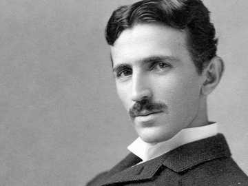 """Nikola Tesla - """"When wireless is perfectly applied the whole earth will be converted into a huge brain, which in"""