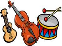 t is voor drie muziekinstrumenten