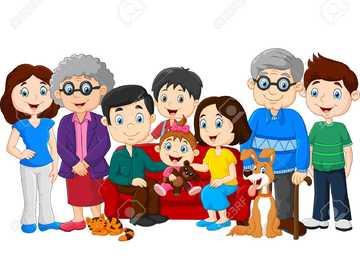 La famille - Puzzles de la famille élargie