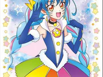 Cure cosmo - Hi today I will show you an puzzle. it is star twinkle Precure cure cosmo.hope you will like it.than