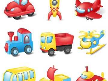 Transport - Rejoignez les pièces du puzzle