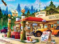 Gas station - Gas station, cars, fuel, sales