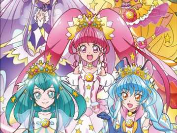 Star twinkle Precure - Hi today I will show you an puzzle. it is star twinkle Precure.Hope you will like it.thanks.