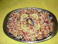 Salada de mexilhão (mexilhões)