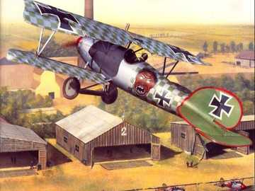 German Plane - German plane first war