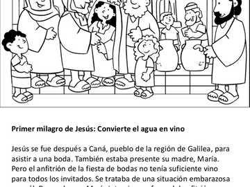 Le miracle de Cana Bodá - Écrivez le texte et complétez le puzzle