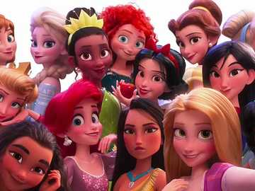 FREE TIME SELFIE - A Disney Princess is everything a girl hopes to be: intelligent, kind, beautiful, and brave. It is i