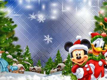MOUSE MOUSE HOLY - Wallpaper edition: Mouse, Mickey, Snowman, Holidays | Merry christmas ...