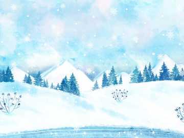 WINTER LANDSCAPE - winter landscape in the forest