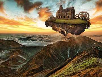 Tajemniczy krajobraz - Tajemniczy krajobraz