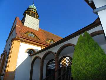 kościółek - Piękny kościół w kotlinie kłodzkiej
