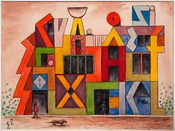 Xul Solar - Dzieło Xul Solar, argentyńskiego surrealistycznego artysty