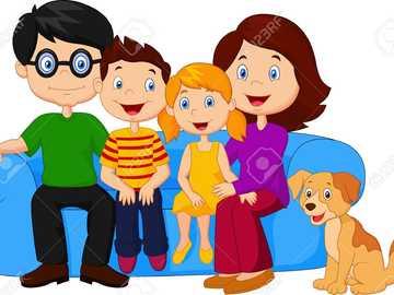Amore per la famiglia - Immagine di amore verso la famiglia unita