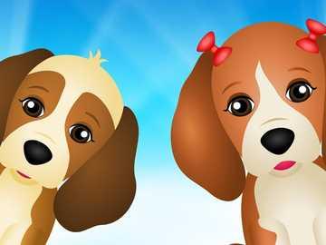 ΣΚΥΛΟ ΔΥΟ - Δύο σκυλιά και με τόξα