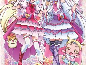 Cure macherie cure amour - Hi today I will show you an puzzle. it is hugtto Precure..hope you will like it.thanks.