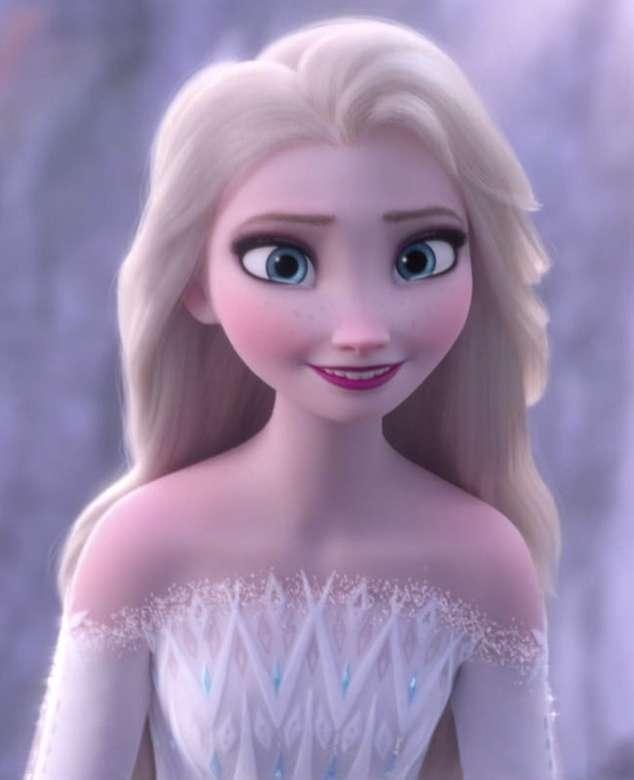 DISNEY FROZEN 2 - Den berättar historien om en orädd prinsessa som åker på en resa tillsammans med en ruggig isman, hans lojala renar och en naiv snögubbe för att hitta sin främmande syster, vars isiga krafter o (7×9)