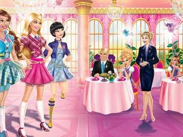 BARBIE AND THE ACADEMY OF PRINCESSES - Barbie: Princess Academy
