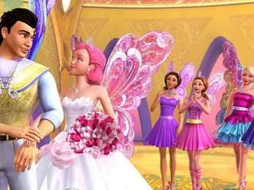 BARBIE AND THE FAIRY SECRET - Barbie and a fairies secret