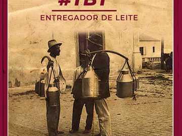 Entregador de Leite Vintage - Entregador de Leite Vintage - 1920 - 1950