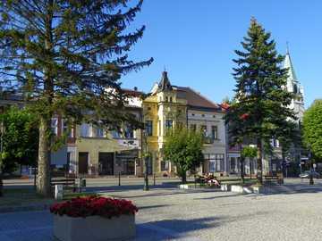 Miasteczko - Urocze miasteczko niedaleko Krakowa