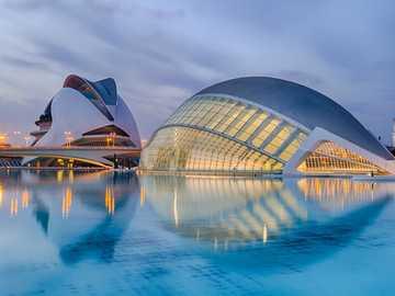 Architektura Walencji - Hiszpański architekt Santiago Calatrava