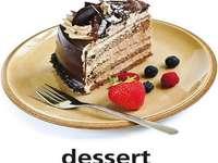 d este pentru desert
