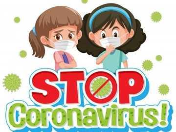 Ferma Coronavirus - Ricorda che tutti stanno partecipando per rimuovere il virus dalle file di persone in tutto il paese