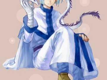 White Dragon - white dragon Gija from akatsuki no yona