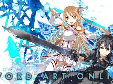 Asuna and Kirito - from sword art online