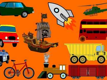 TRANSPORT VEHICLES - all types of vehicles