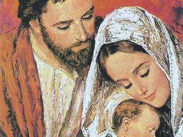sacra Famiglia - Rappresentazione della Sacra Famiglia.