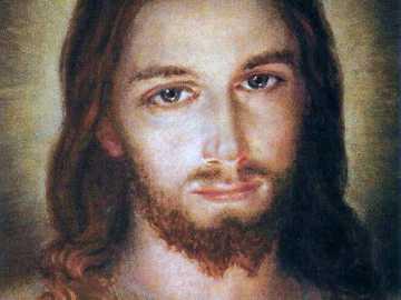 Retrato de jesus - Imagen del Jesús Misericordioso de la Hermana Faustina.