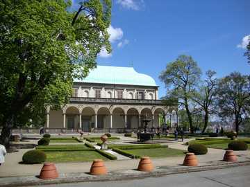Praga, Repubblica Ceca - Palazzo Belweder - Palazzo estivo dell'imperatore Ferdinando