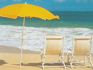 Dos en la playa - Tiempo para dos en la playa.