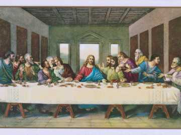 Holy Communion - The last supper.
