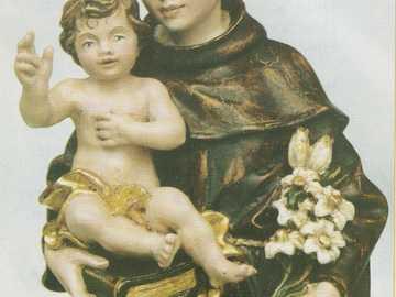 Sant'Antonio - Sant'Antonio con Gesù bambino.