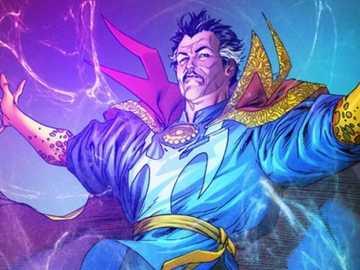 Doctor Strange Puzzle - Era un neo chirurgo e ha avuto un incidente d'auto che ha cambiato la sua vita ora usa la magia