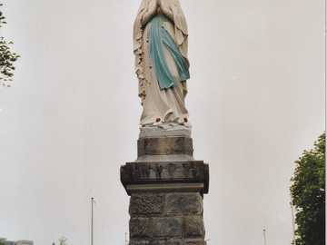 Statue of Mary in Lourdes - Statue of Mary in Lourdes.