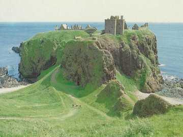 Scozia Dunbar Castle - Scozia Dunbar Castle