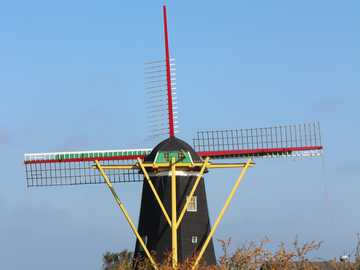 Mill on Zeeland - Mill on Zeeland in Holland