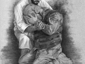 Unterstützter Soldat von. Gott - Gottes unterstützter Soldat