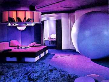 Envirnoment Of The Future - This Is Living Room Design By Joe Colombo