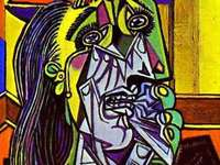 Pussel, Picasso, porträtt