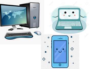 El Computador - Arma los diferentes dispositivos que funcionan como el co,putadr